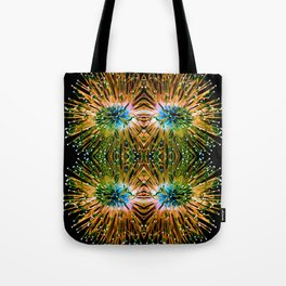 Intertwined Entities Tote Bag