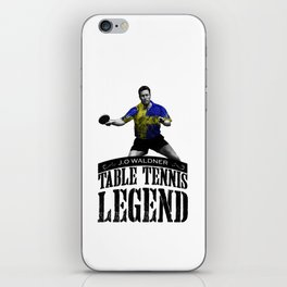 Jan Ove Waldner | Table Tennis Legend iPhone Skin