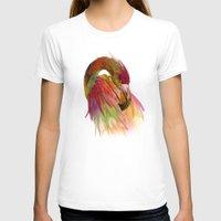 birds T-shirts featuring birds  by mark ashkenazi