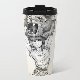 The Lion's Roar Metal Travel Mug