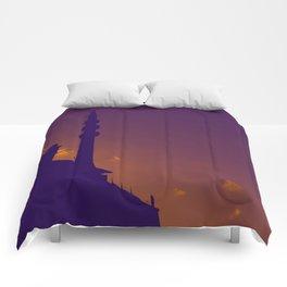 Purple Mosque Comforters