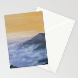 The Morning of the new day Stationery Cards