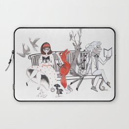 Elwood's Uncomfortable Stare Laptop Sleeve