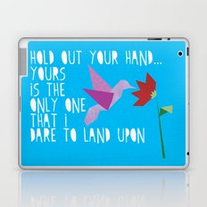 Hummingbird - The Weepies Lyrics Laptop & iPad Skin
