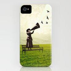 singing birds Slim Case iPhone (4, 4s)