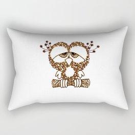 Sad Owl Rectangular Pillow