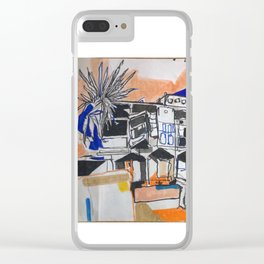 Felixstowe Spa Pavilion View Clear iPhone Case