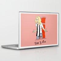 tina Laptop & iPad Skins featuring Team X-Tina by Lizz Buma