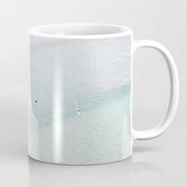 light aqua surfers Coffee Mug