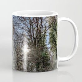 Beautiful day in a winter forest Coffee Mug