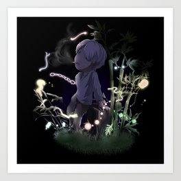 Evening with Nature Art Print