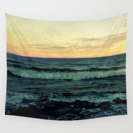 Alamillo Beach Sunset Wall Tapestry