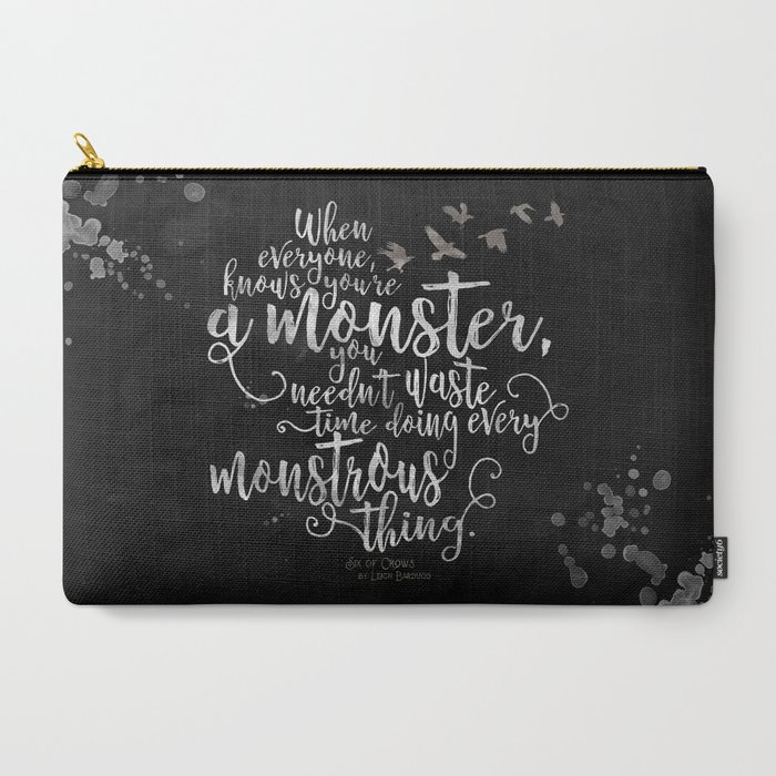 Six_of_Crows__Monster__Black_CarryAll_Pouch_by_Evie_Seo__Large_125_x_85