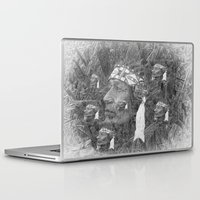 indian Laptop & iPad Skins featuring Indian by  Agostino Lo Coco
