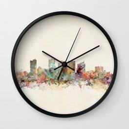 phoenix arizona skyline Wall Clock