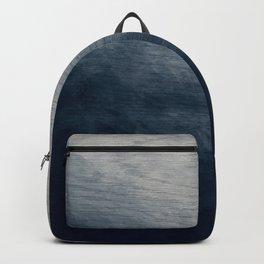 Woodgrain - Blue Stain Backpack