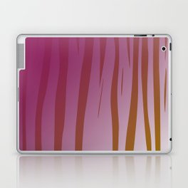 wild design exotic lines Pink Laptop & iPad Skin