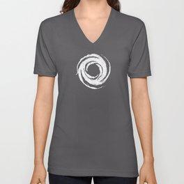 Apostate Symbol-White-Chaotic Unisex V-Neck