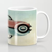 bug Mugs featuring love bug by Vin Zzep