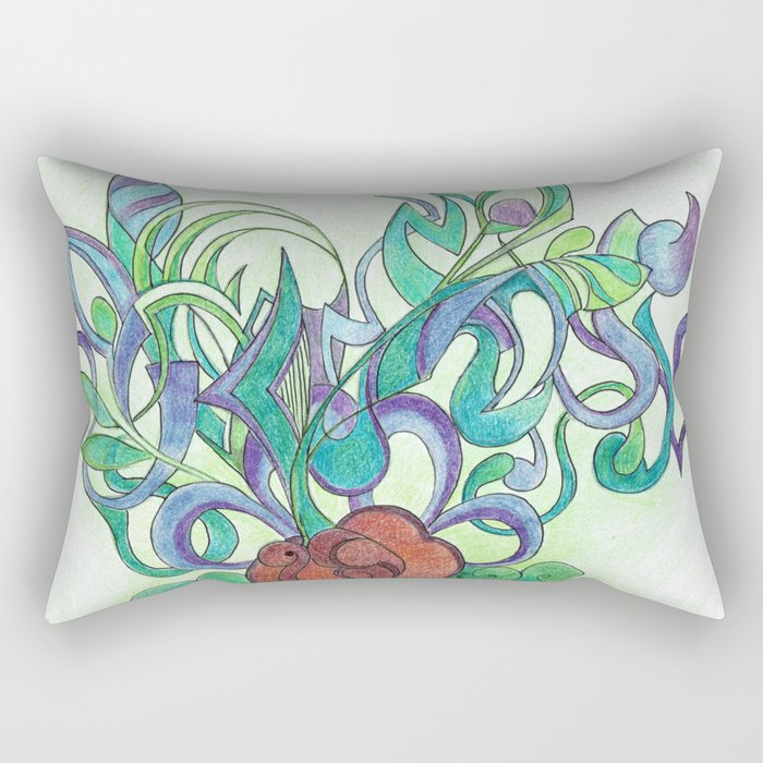Germination Rectangular Pillow