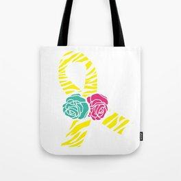 Endometriosis Ribbon 2 Tote Bag