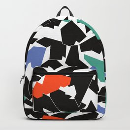 Folded colored Backpack
