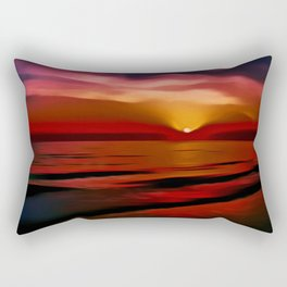 Graceful (Digital Art) Rectangular Pillow
