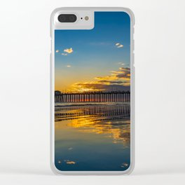 The Sky on the Sand II Clear iPhone Case