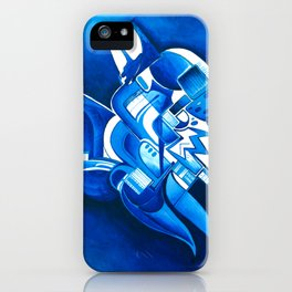 #22 – dipinto di blu… iPhone Case