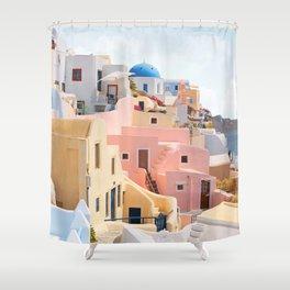 Santorini Shower Curtain