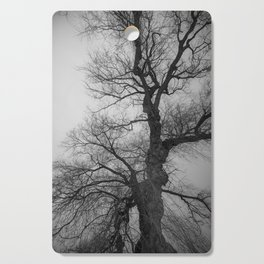 Nature Photography Weeping Willow | Lungs of the Earth | Black and White Cutting Board