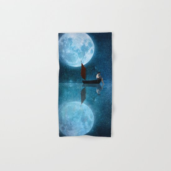 The Moon and Me Hand & Bath Towel