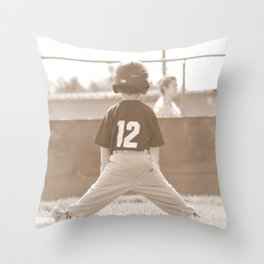 Number 12 Throw Pillow
