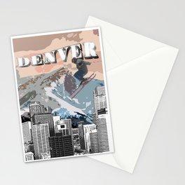 Ski Denver Stationery Cards
