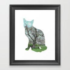 A cat's life III Framed Art Print