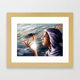Soceress - Touch of Magic Framed Art Print