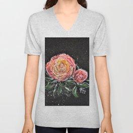 Rose In Light Unisex V-Neck