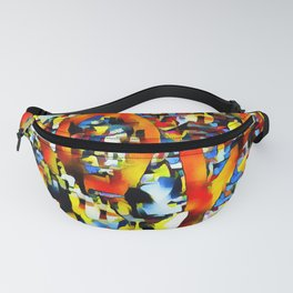 Love In Abstract Fanny Pack