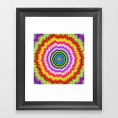 KaBooM!!! Framed Art Print