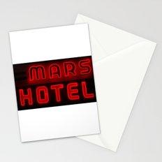 Mars Hotel Stationery Cards