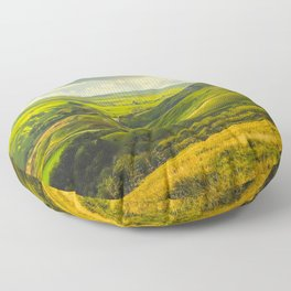 The Hope Valley, Peak District, Derbyshire Floor Pillow