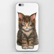 Little Kitten II iPhone & iPod Skin