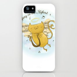 Glory in the Highest iPhone Case