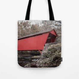 Walls of Jericho Bridge Muted Tote Bag
