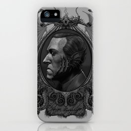 Lovecraft as Deepone iPhone Case