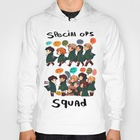 snk Hoodies featuring SNK-Special ops. squad by Mimiblargh