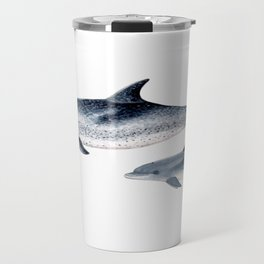 Atlantic spotted dolphin Travel Mug
