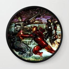 battles between robots Wall Clock