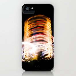 light me up iPhone Case