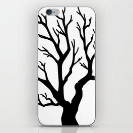 Dead Tree - Inktober Series iPhone Skin